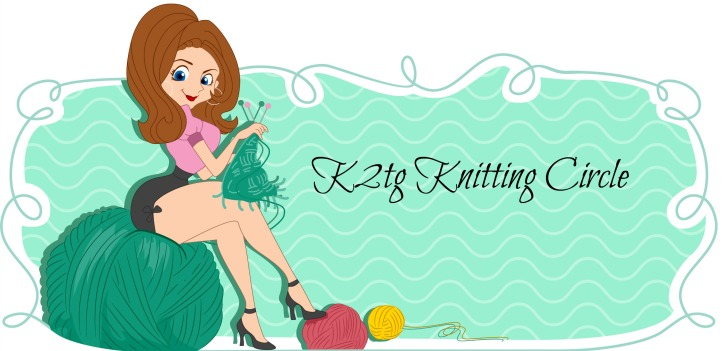 Illustration of a Web Banner with a Knitting Theme